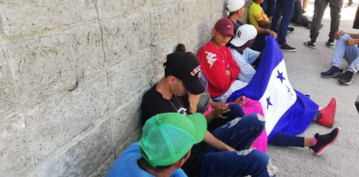 se reúnen en San Pedro Sula para iniciar caravana hacia Estados Unidos