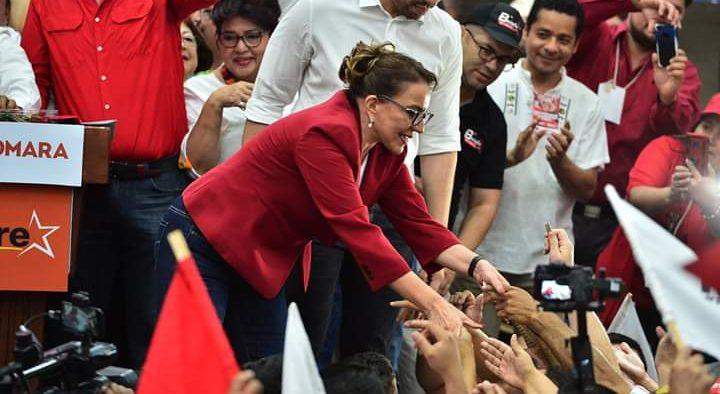 """Libre es la """"auténtica y primera fuerza de oposición"""" en el país."""