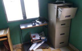 Un nuevo asalto en las oficinas de la Coordinadora de Organizaciones Populares del Aguán, COPA en la ciudad de Tocoa, Colón.