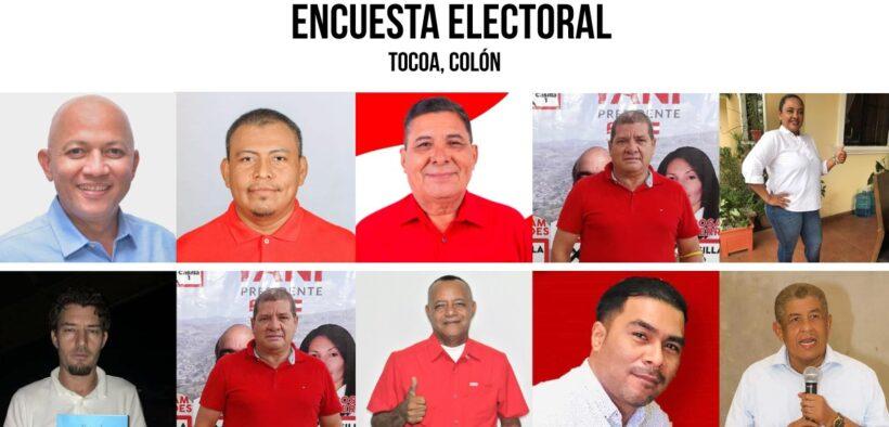 ENCUESTA ELECTORAL TOCOA, COLÓN